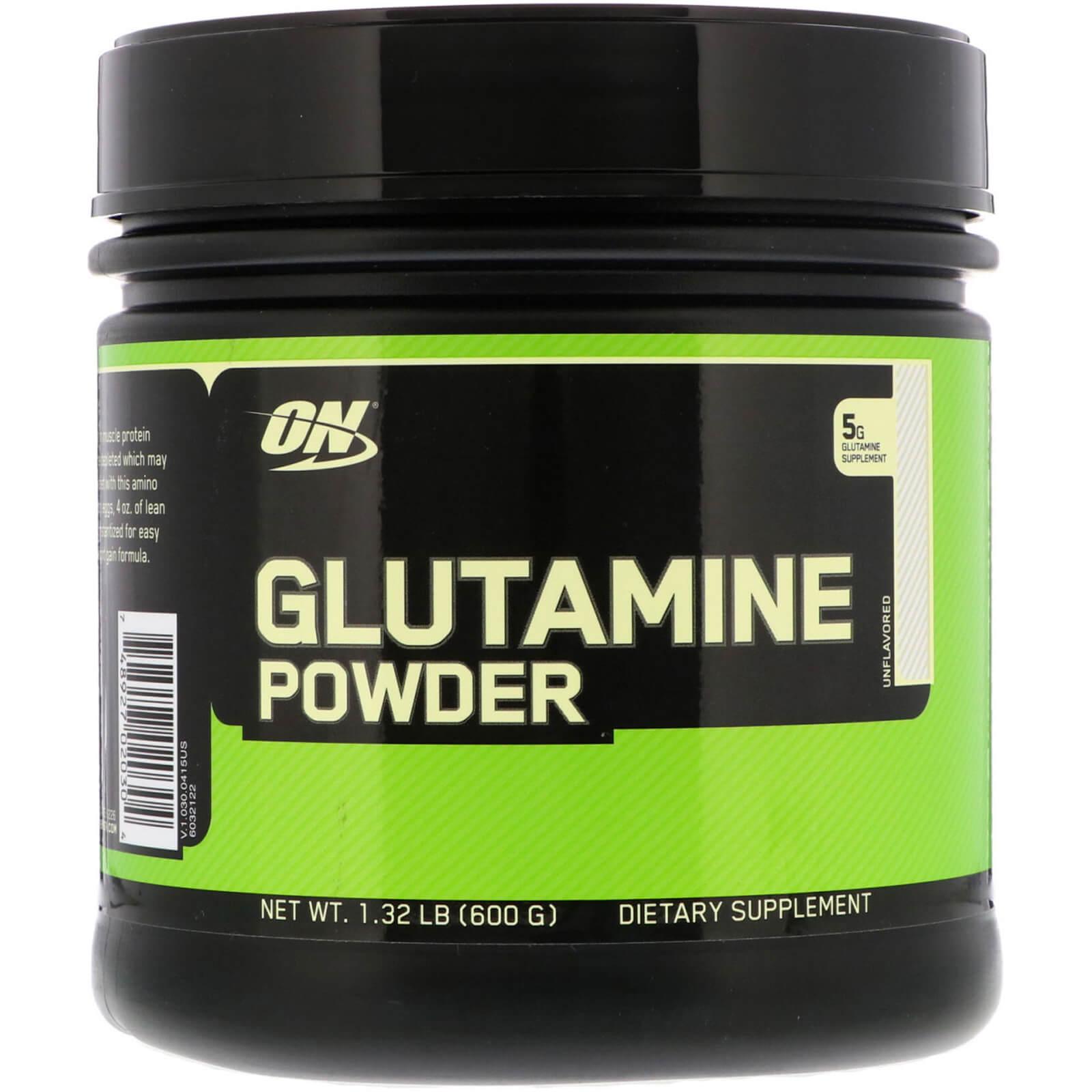 Optimum Nutrition, Glutamine Powder, Unflavored, 1.32 Lb