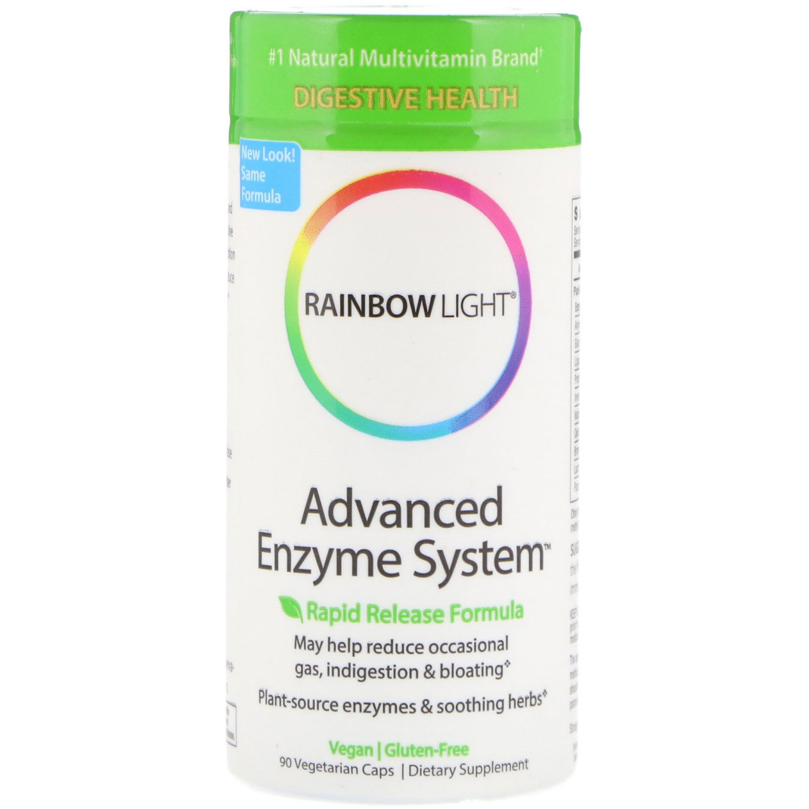 Rainbow Light Advanced Enzyme System Rapid Release