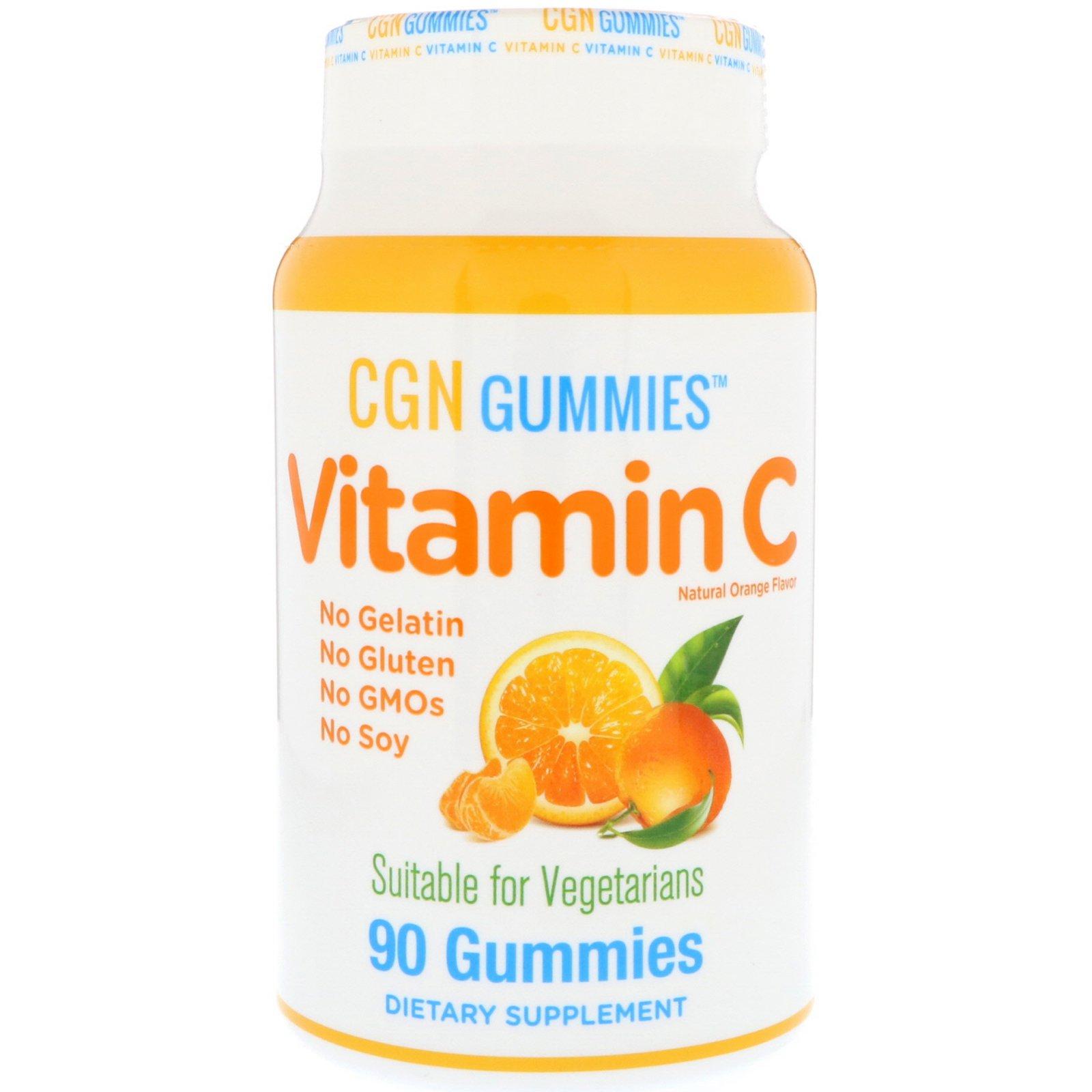 California Gold Nutrition, Vitamin C Gummies, Gluten-Free, Non GMO, No  Gelatin, Natural Orange Flavor, Ultimate Sup